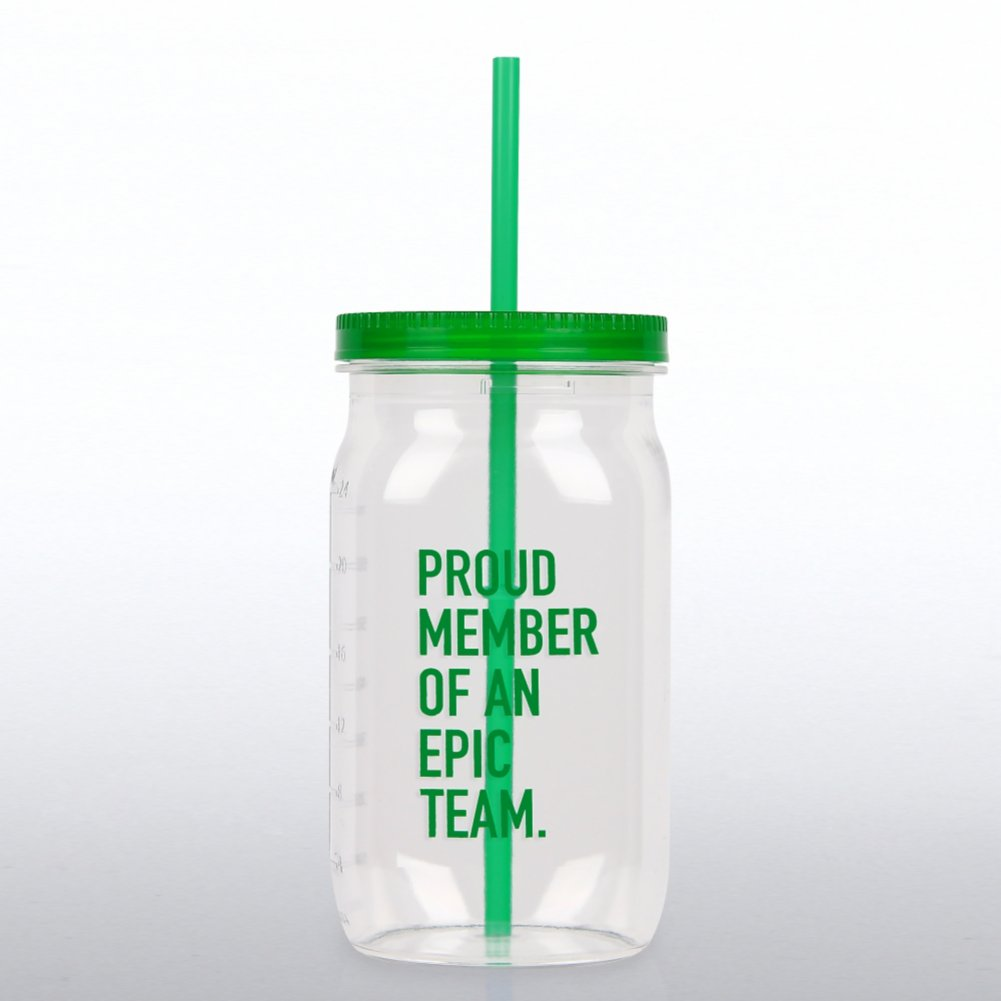View larger image of Value Mason Jar Tumbler - Proud Member of an Epic Team