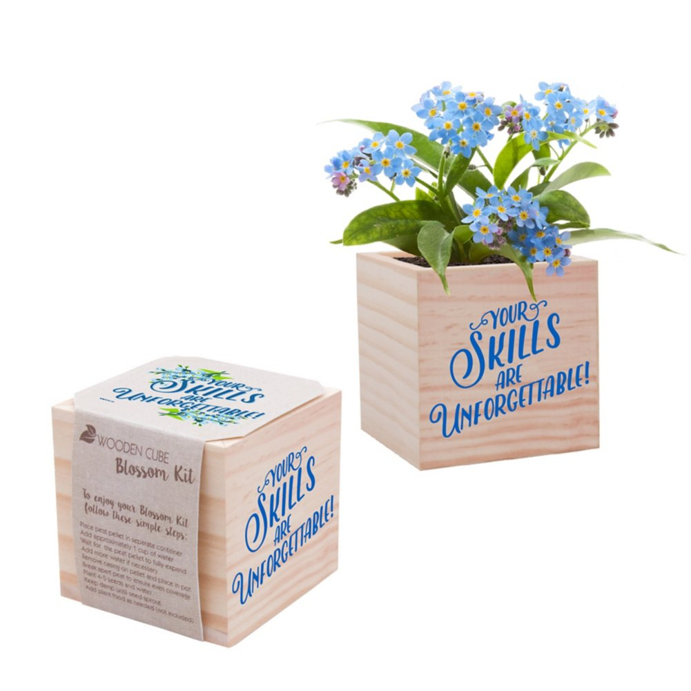 View larger image of Appreciation Plant Cube - Your Skills Are Unforgettable!