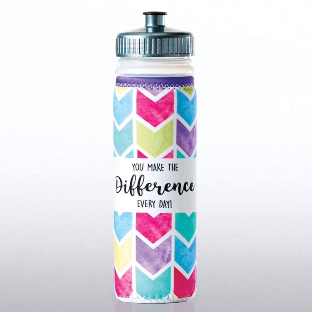 View larger image of Full O' Color Value Water Bottle - You Make The Difference