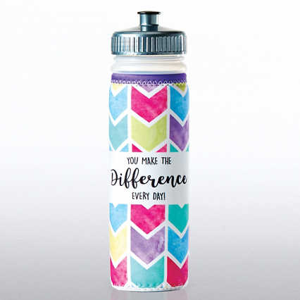 Full O' Color Value Water Bottle - You Make The Difference