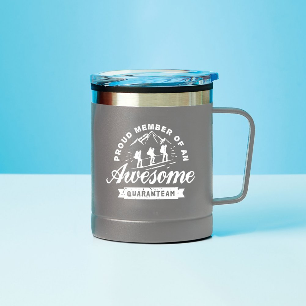 View larger image of Value Adventure Mug - Proud Member Quaranteam