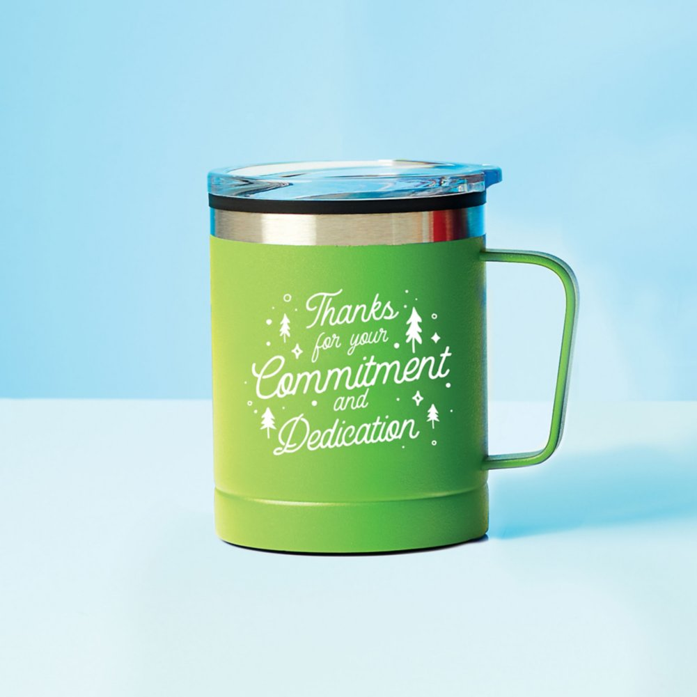 View larger image of Value Adventure Mug - Commitment & Dedication
