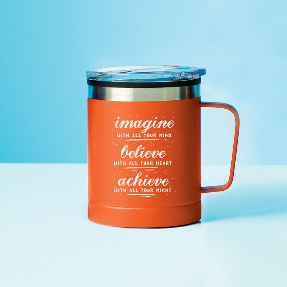View larger image of Value Adventure Mug - Imagine, Achieve, Believe