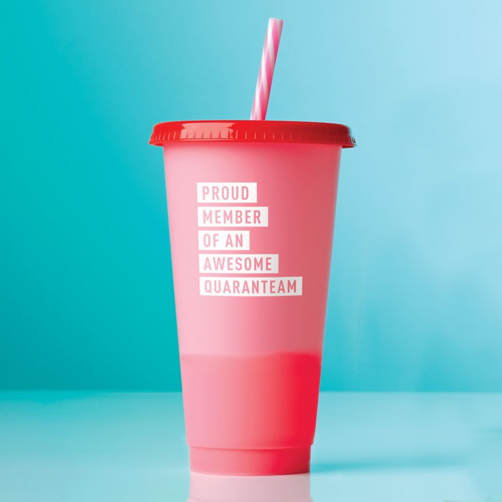 View larger image of Statement Color Changing Tumblers - Proud Member of an Awesome Quaranteam