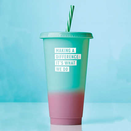 Statement Color Changing Tumblers - Making a Difference
