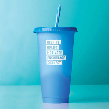 Statement Color Changing Tumblers - Inspire