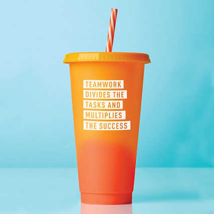 Statement Color Changing Tumblers - Teamwork