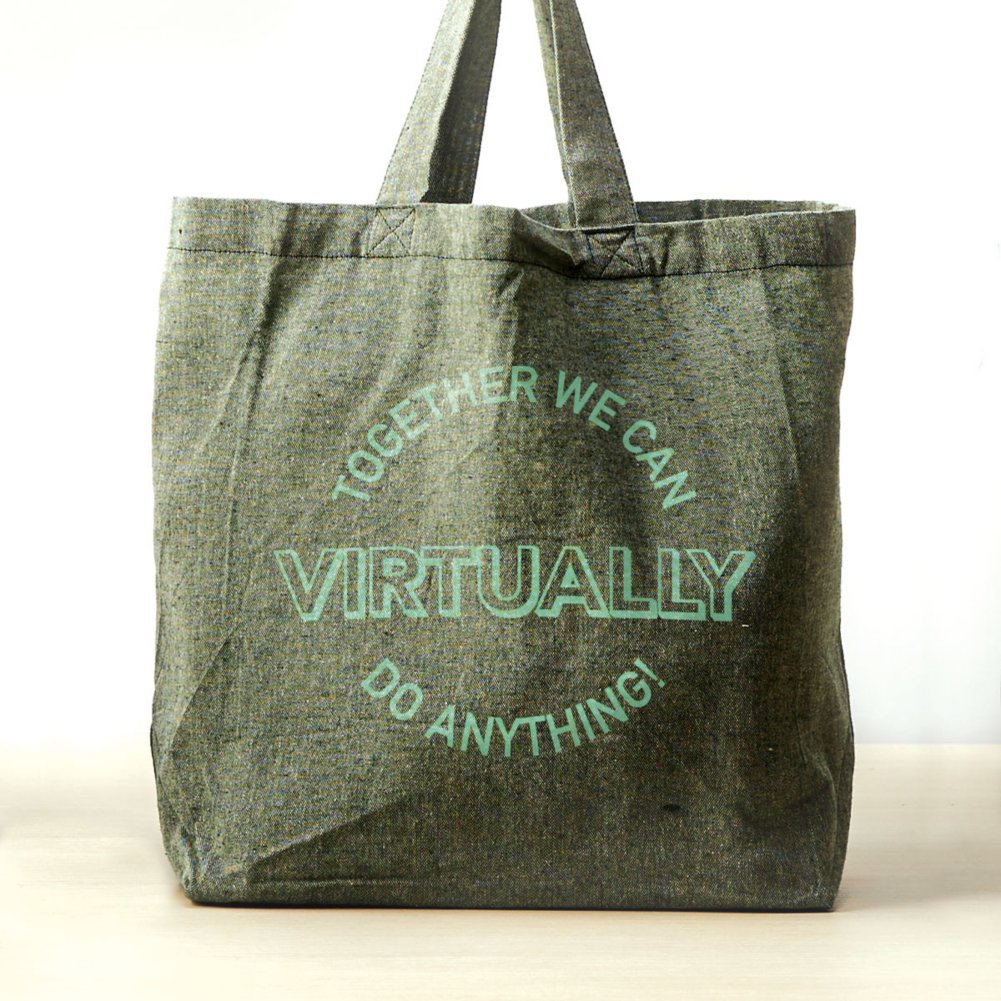 View larger image of Feel Good Recycled Tote - Together We Can