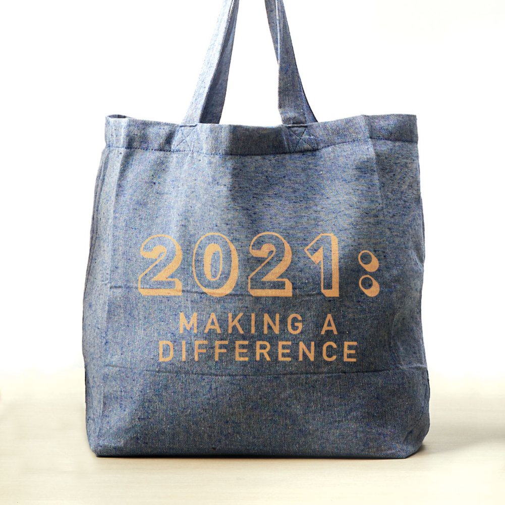 View larger image of Feel Good Recycled Tote - 2021