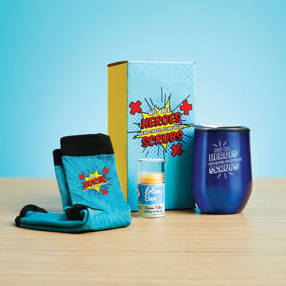 View larger image of You Deserve a Break Gift Set - Healthcare Heroes