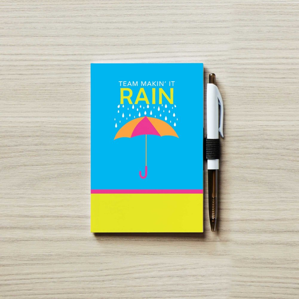 View larger image of Colorific Value Journal & Pen Set - Team Makin' it Rain