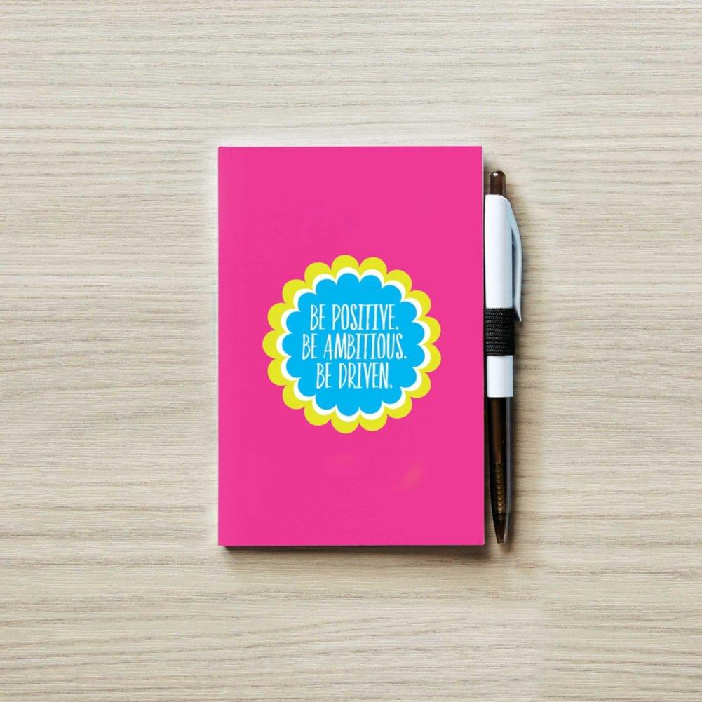 View larger image of Colorific Value Journal & Pen Set- Positive Ambitious Driven