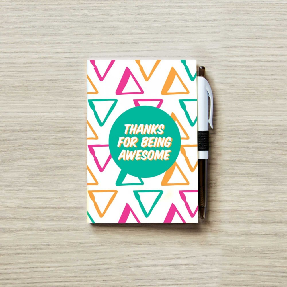 View larger image of Colorific Value Journal & Pen Set - Thanks for Being Awesome