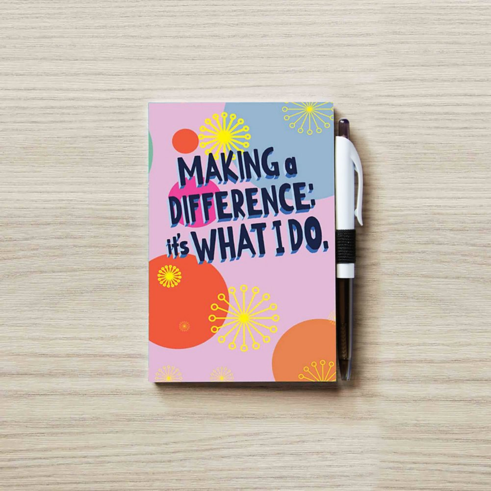 View larger image of Colorific Value Journal & Pen Set - MAD: It's What I Do