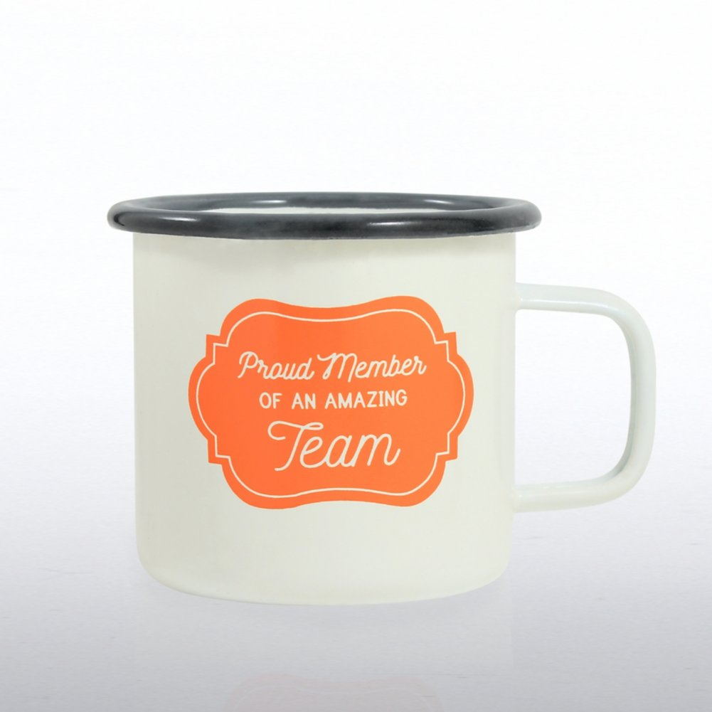 View larger image of Classic Enamel Campfire Mug -Proud Member Of An Amazing Team