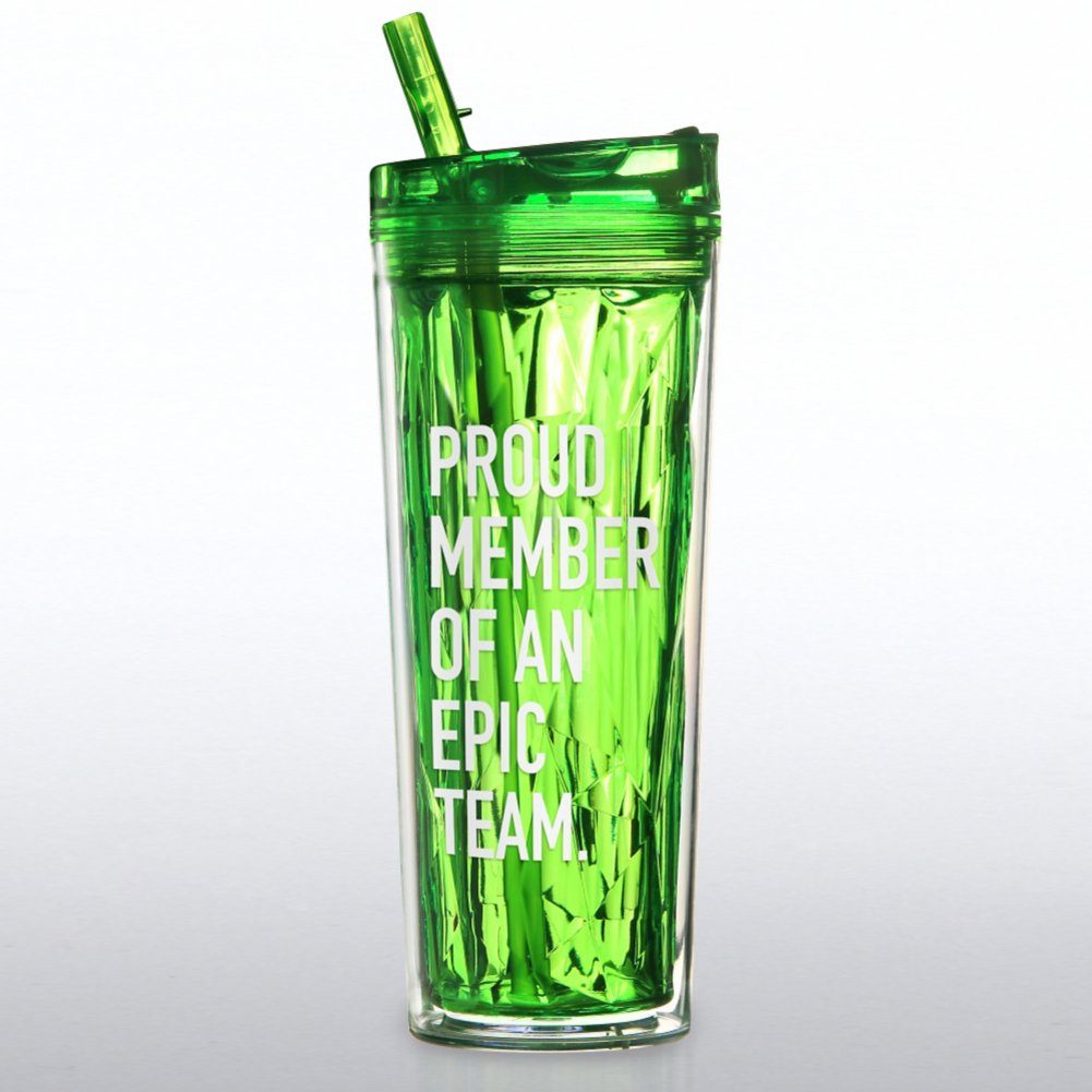 View larger image of Vibrant Prism Tumbler - Proud Member of an Epic Team