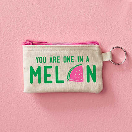 Hipster Card Carrier - You Are One In A Melon