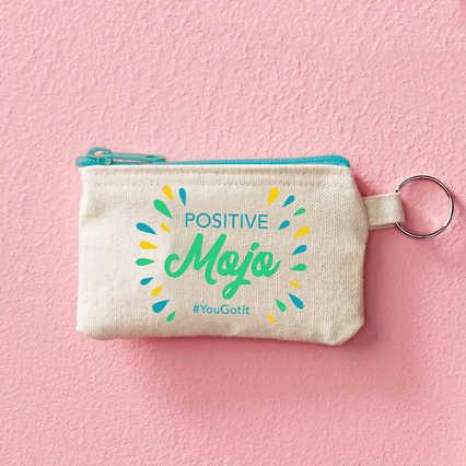 Hipster Card Carrier - Positive Mojo
