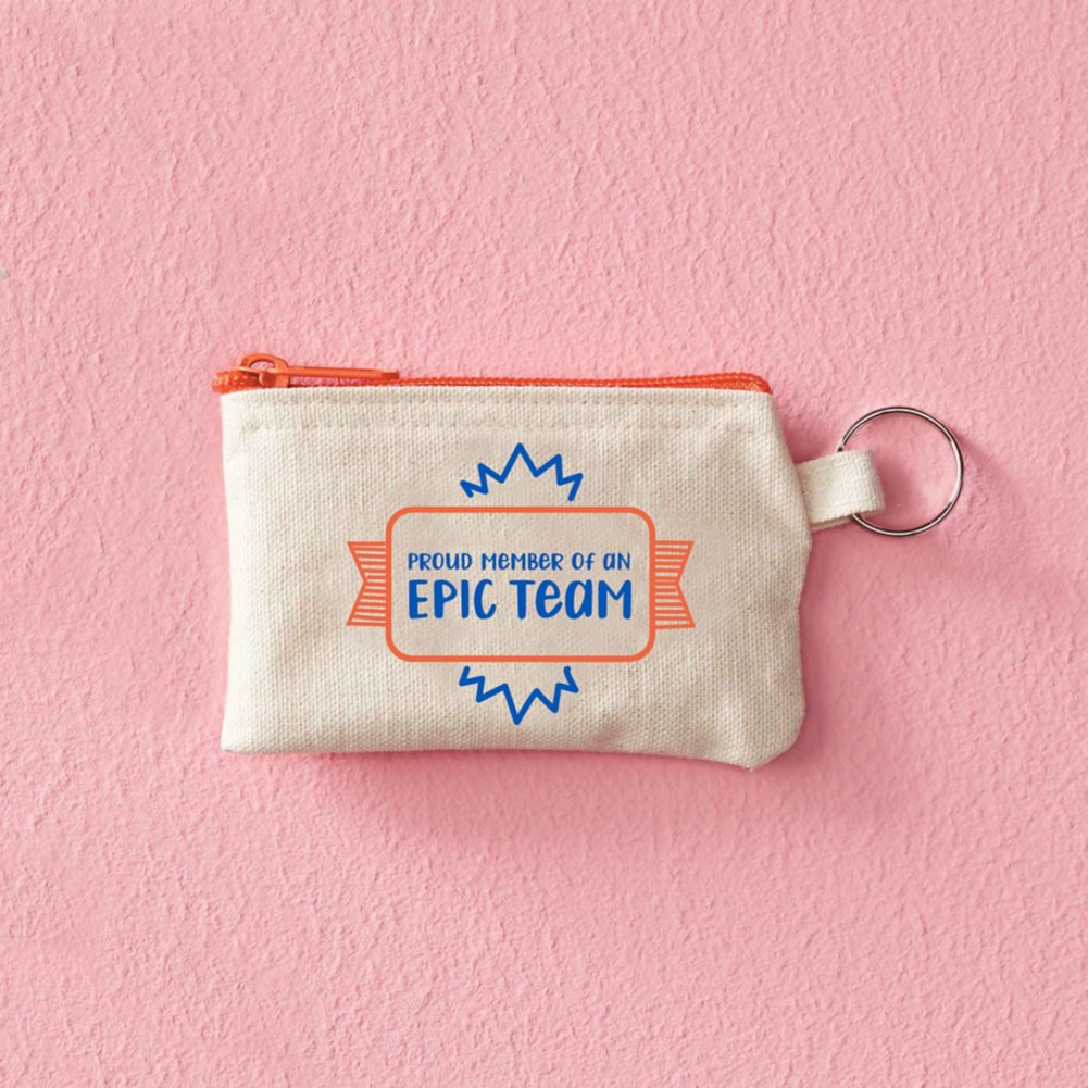 Hipster Card Carrier - Proud Member Of An Epic Team