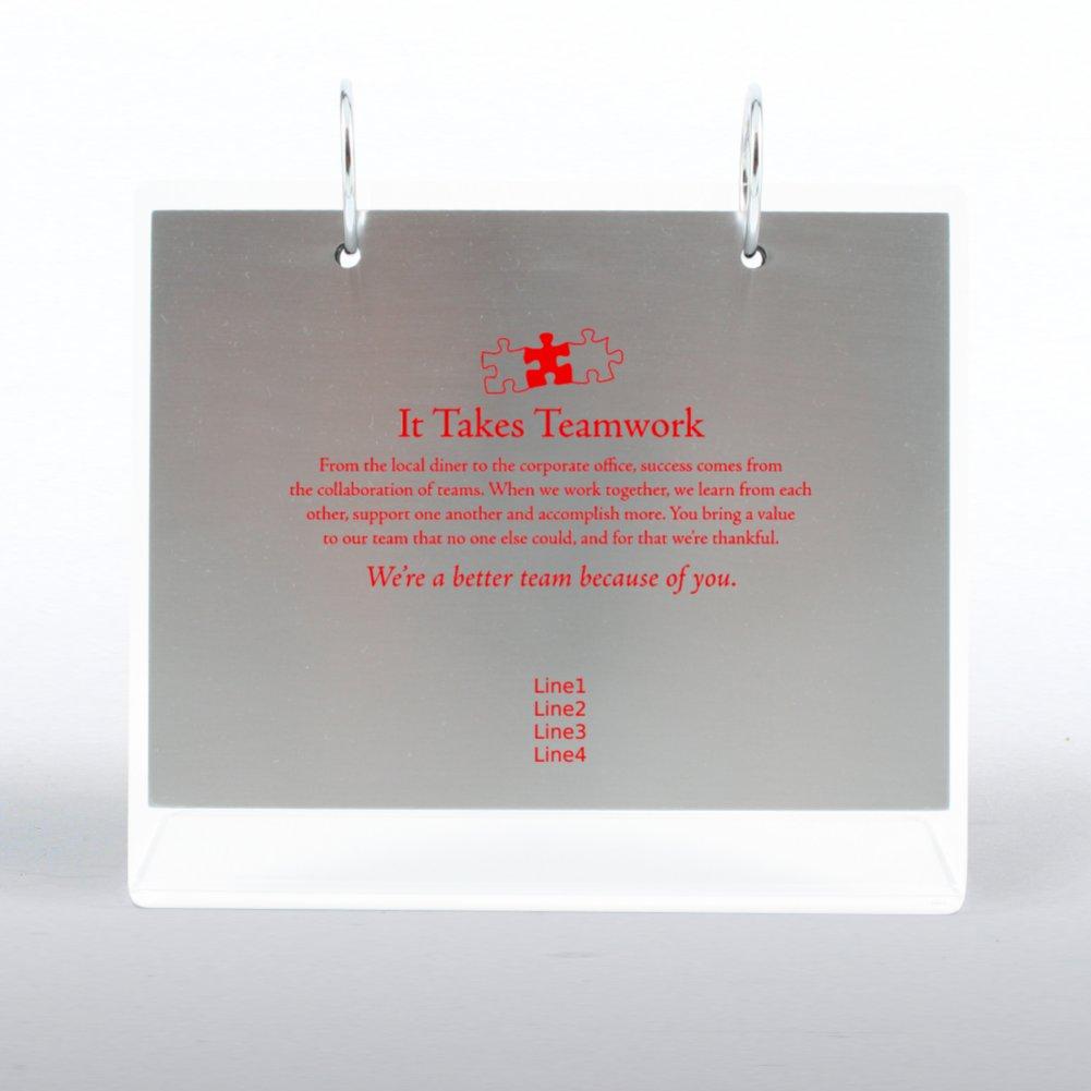 View larger image of Desktop Photo Flip Frame