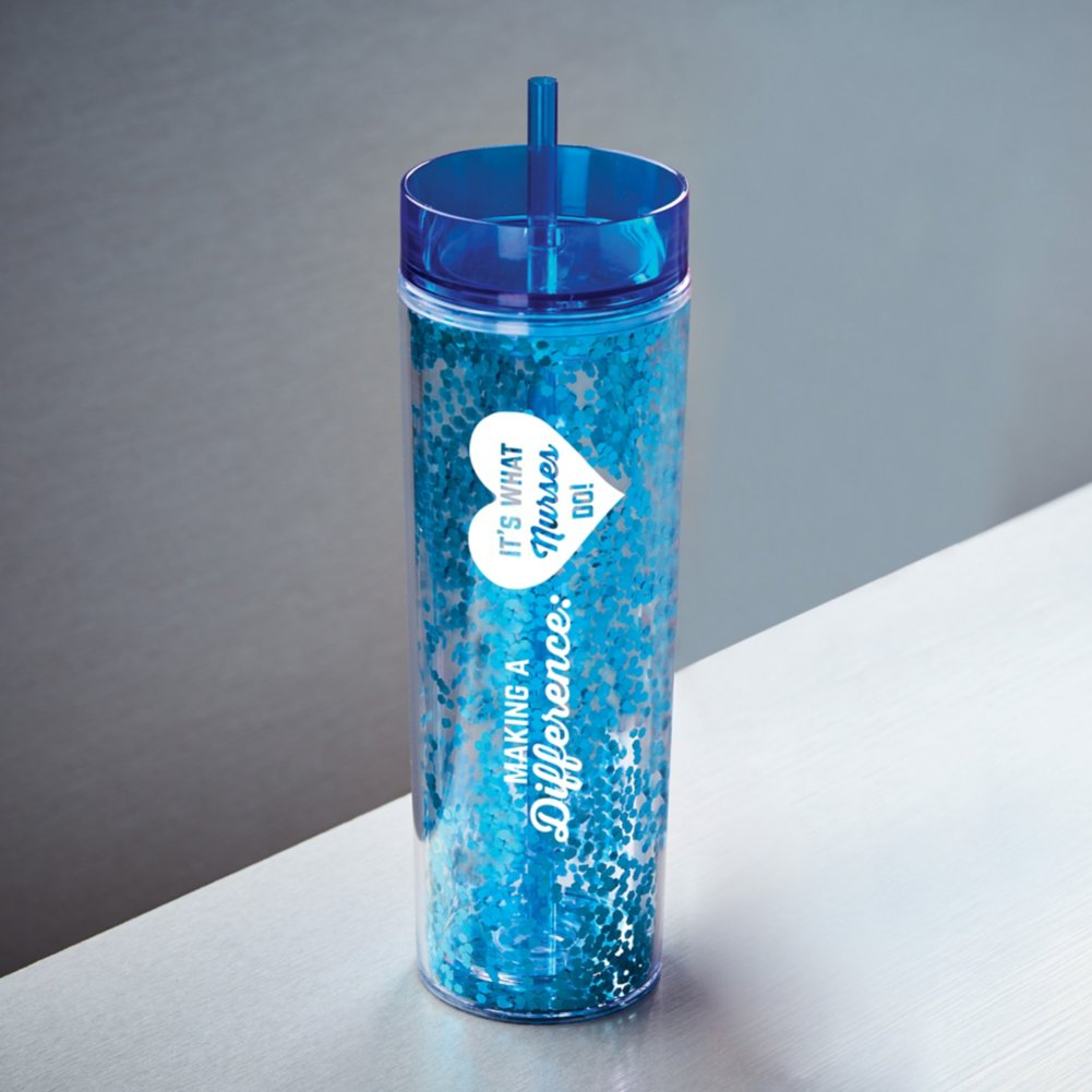 View larger image of Confetti Healthcare Tumbler - MAD: It's What Nurses Do!
