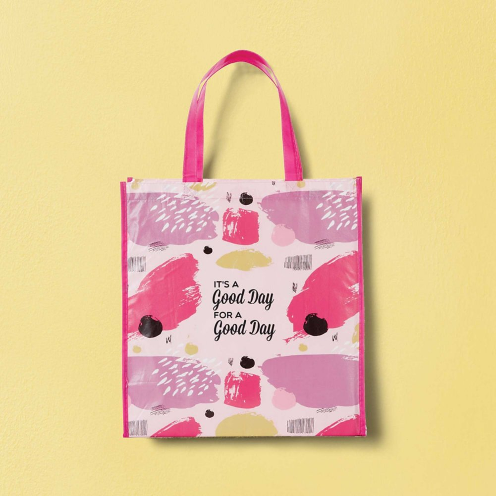 View larger image of Artful Value Shopper Tote - It's A Good Day