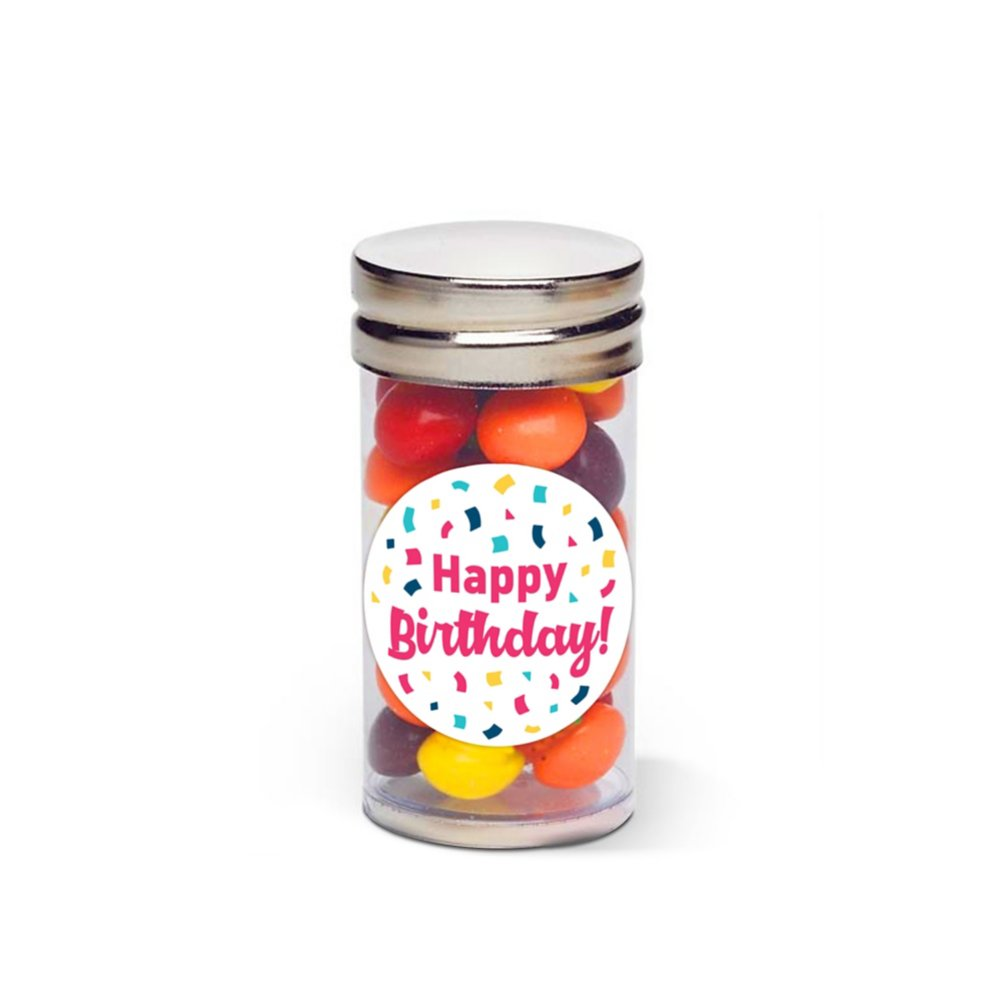 View larger image of Sweet Treat Skittles Tube - Happy Birthday!