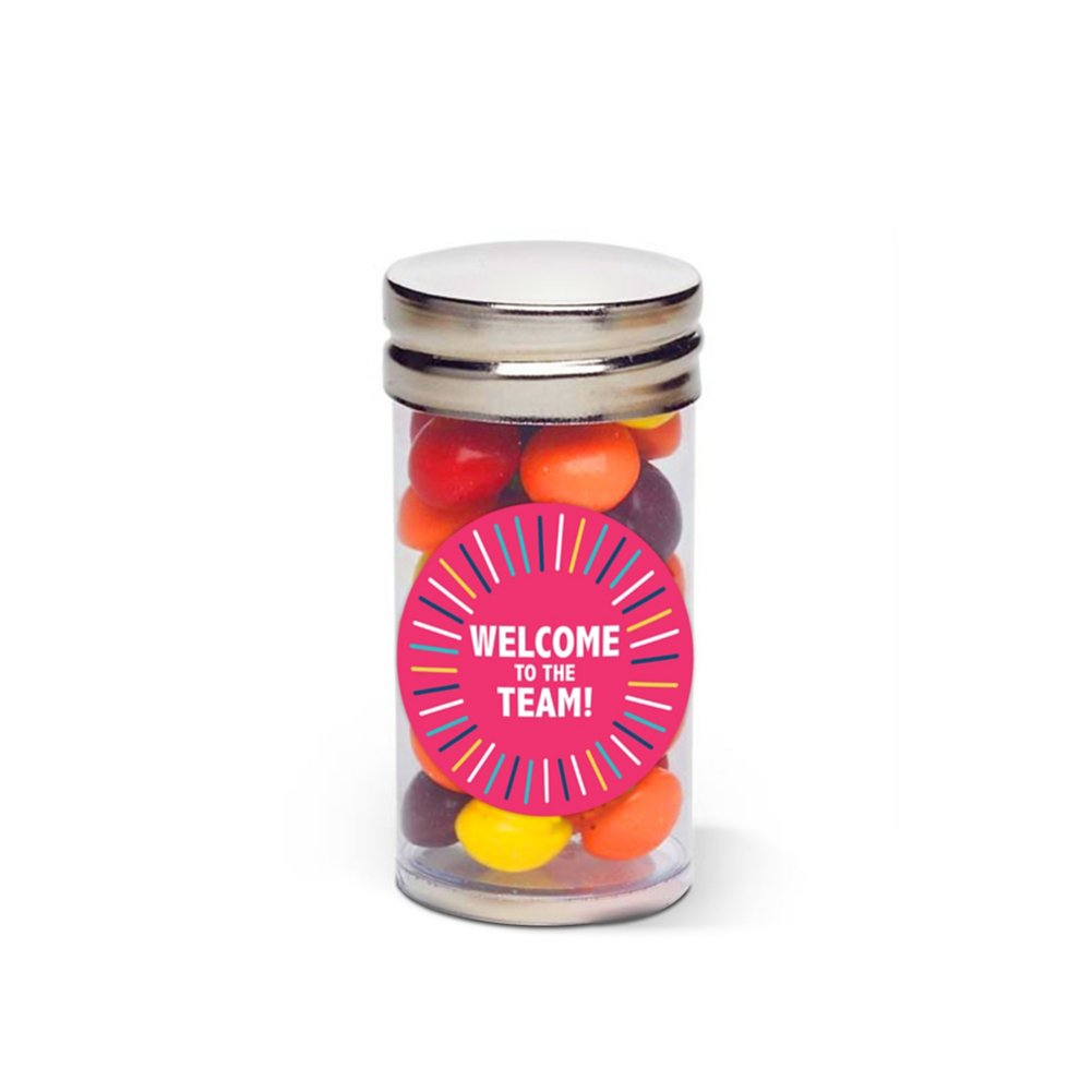View larger image of Sweet Treat Skittles Tube - Welcome To The Team!