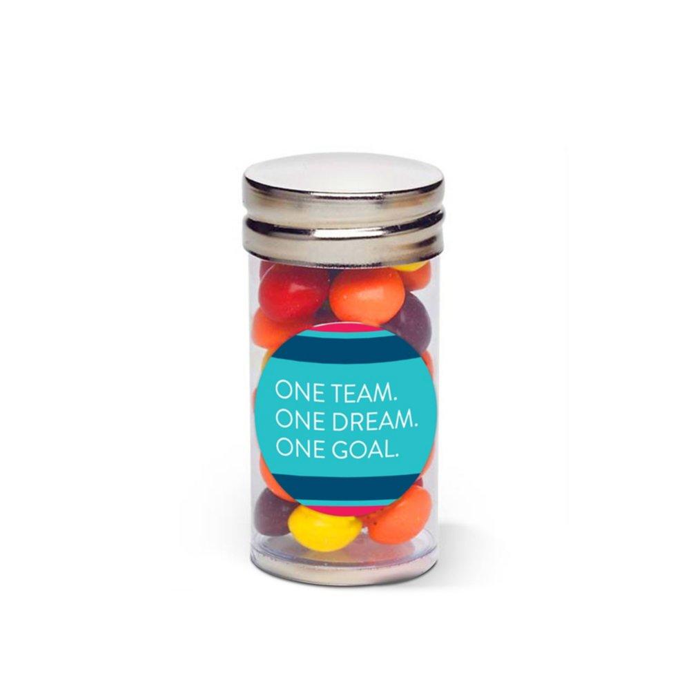 Sweet Treat Skittles Tube - One Team. One Dream. One Goal.