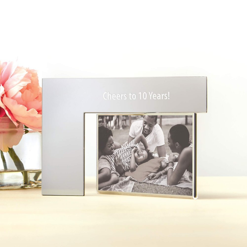 View larger image of Engravable Swivel Photo Frame