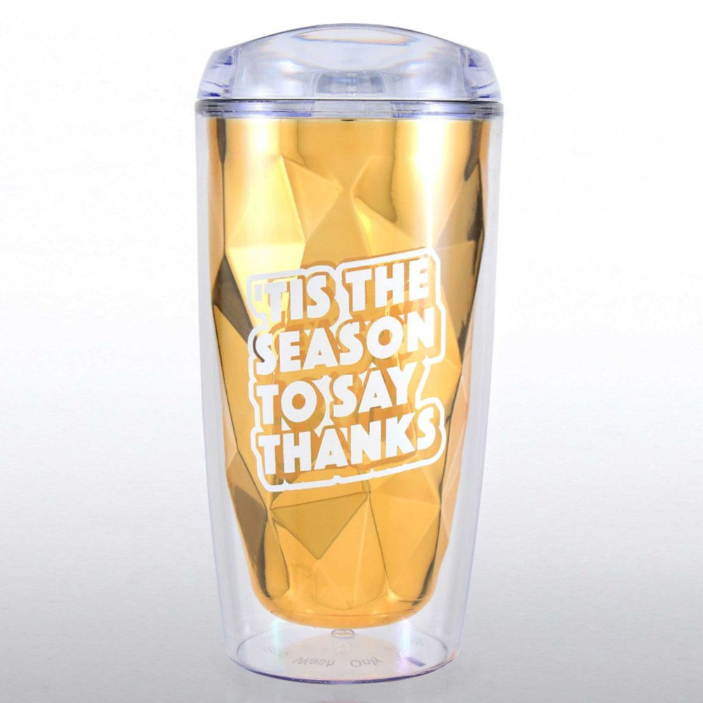 View larger image of Luminary Tumbler - 'Tis The Season To Say Thanks