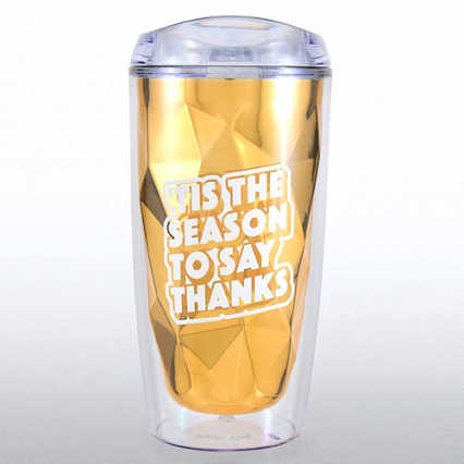 Luminary Tumbler - 'Tis The Season To Say Thanks