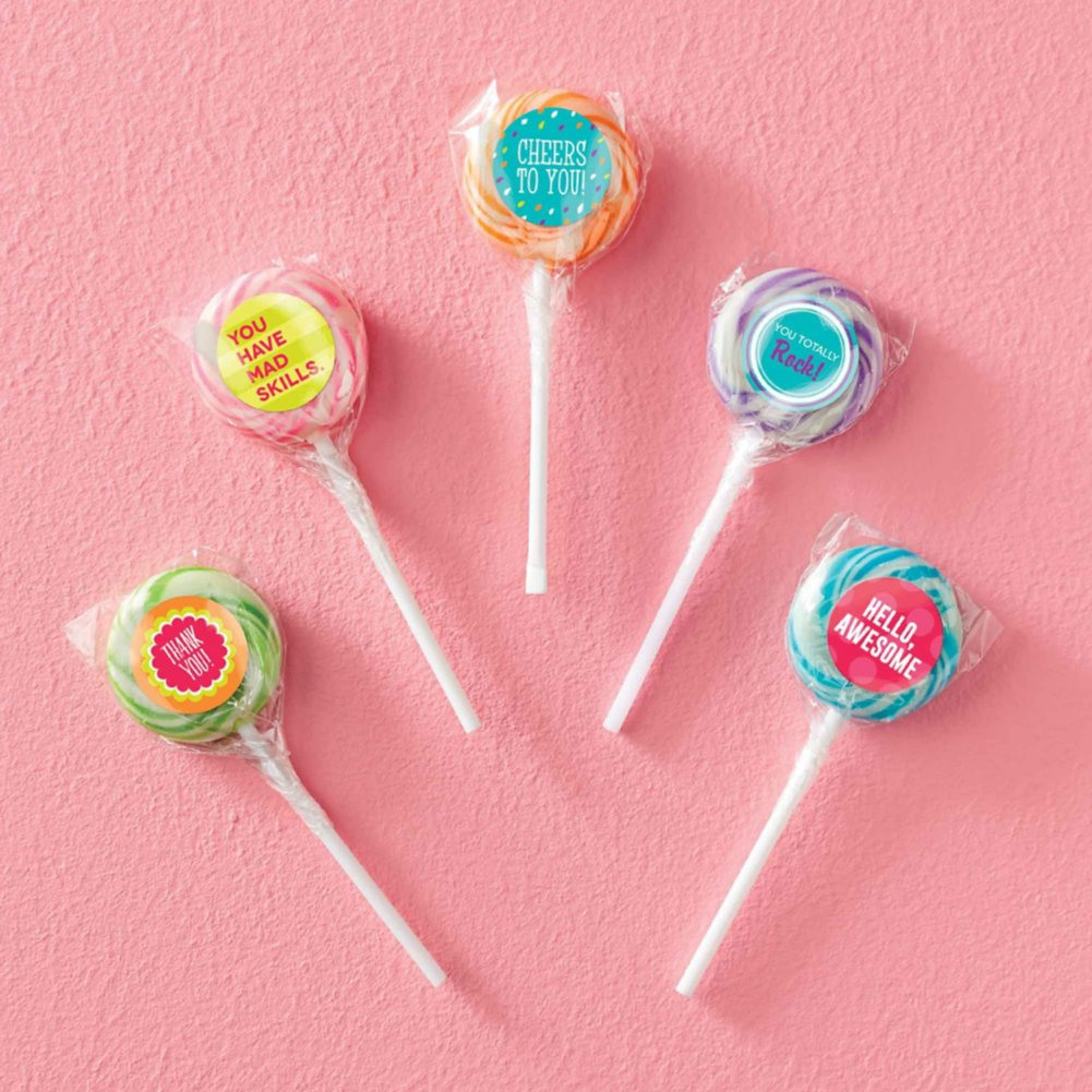 View larger image of Swirly Twirly Lollipop 5-Pack