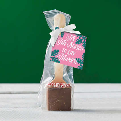 Hot Cocoa Spoon - Tis the Season to Say Thanks