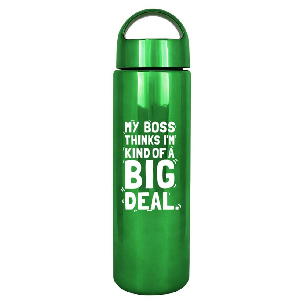 View larger image of Brilliantly Colored Water Bottle - Big Deal