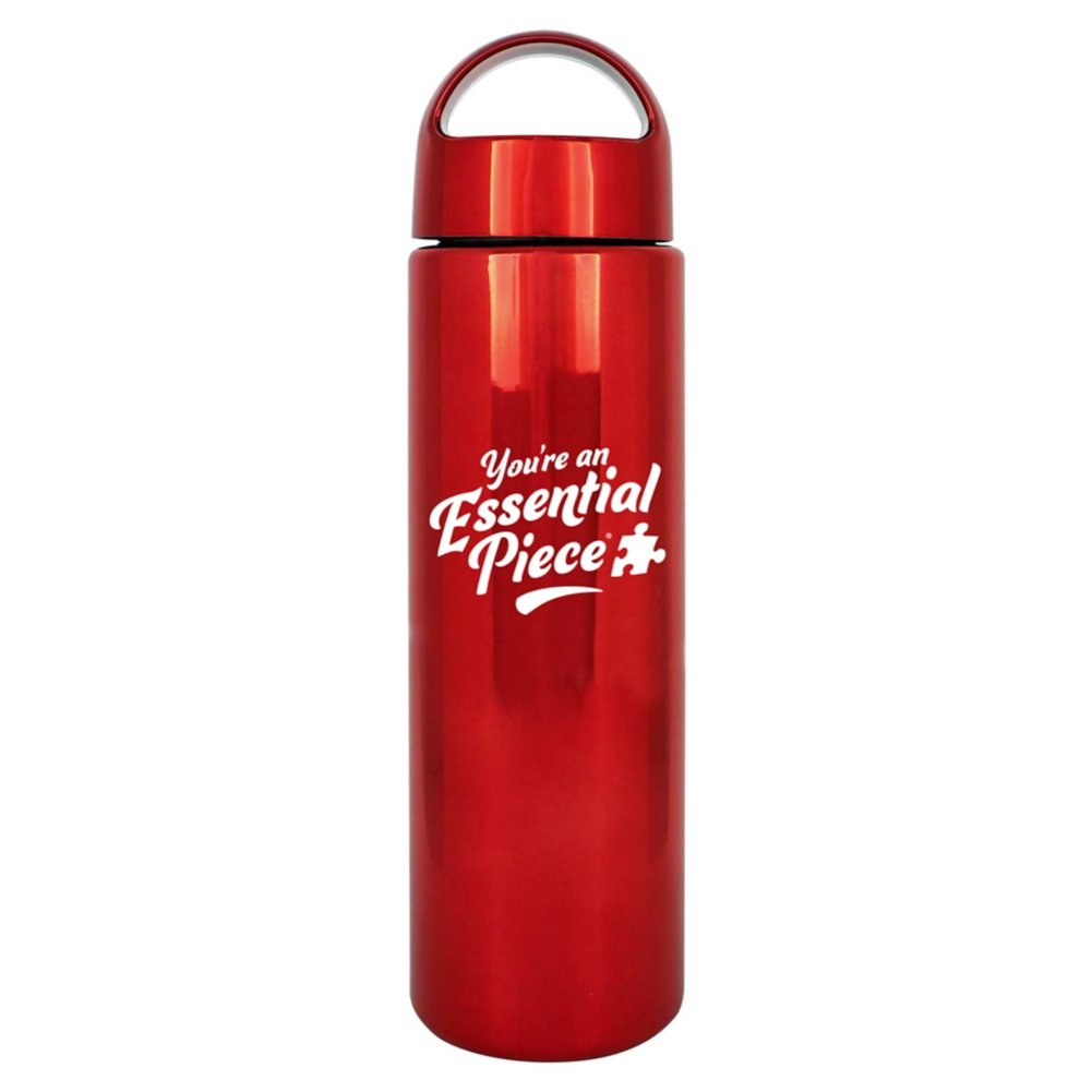 View larger image of Brilliantly Colored Water Bottle - You're an Essential Piece