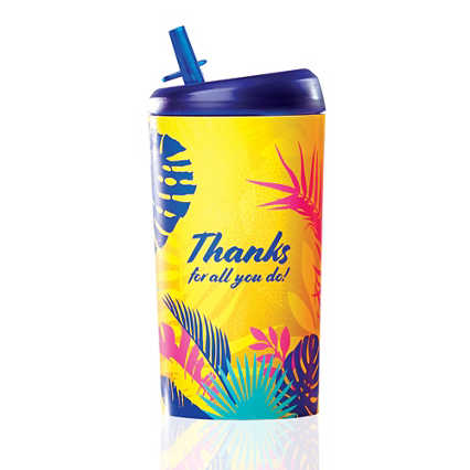 Value Pop-Top Water Bottles - Thanks for All You Do!