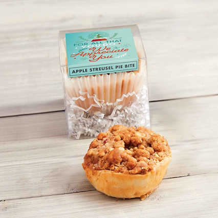 The Perfect Bite Mini Pie - Apple Streusel