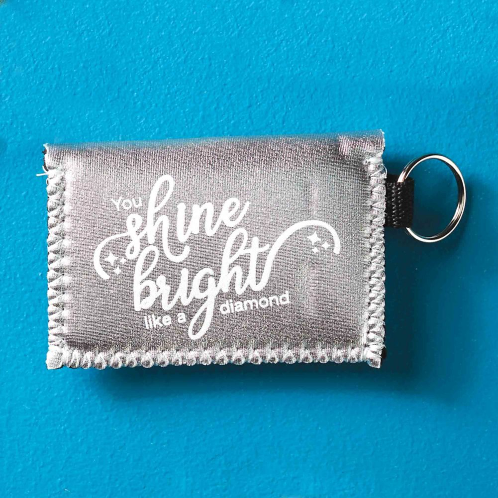 View larger image of Metallic Card Case - You Shine Bright Like a Diamond