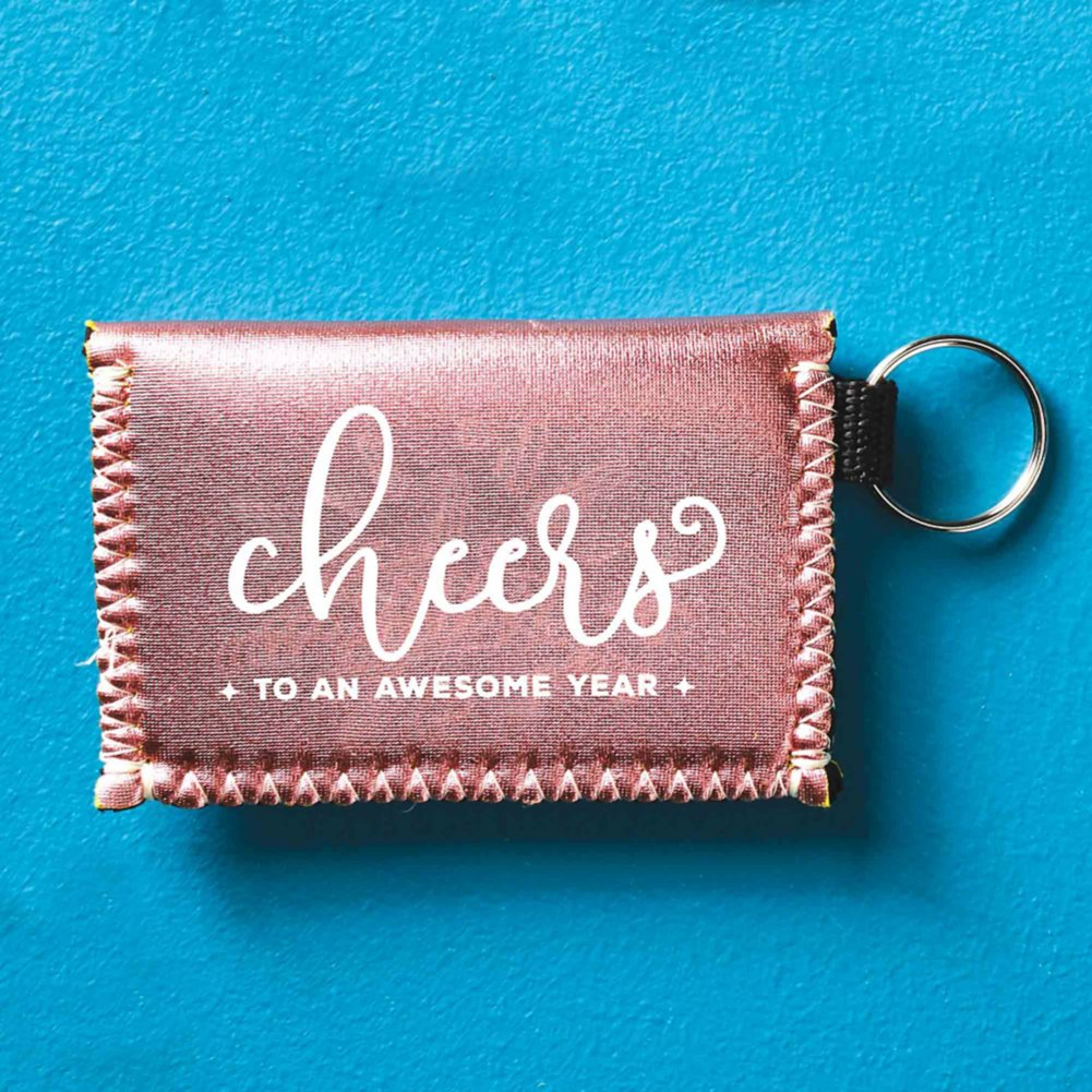 View larger image of Metallic Card Case - Cheers to an Awesome Year