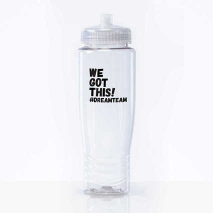 Value Fitness Water Bottle - We Got This! #Dreamteam