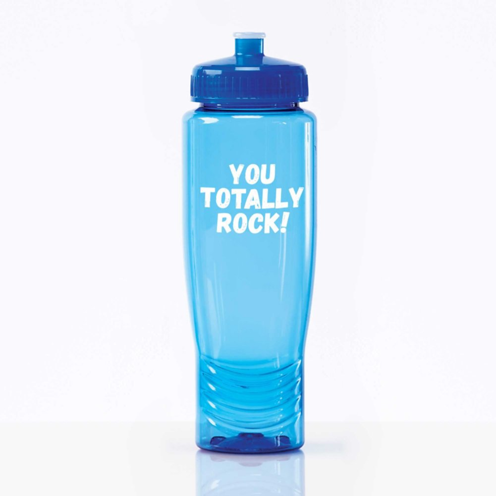 Value Fitness Water Bottle - You Totally Rock!