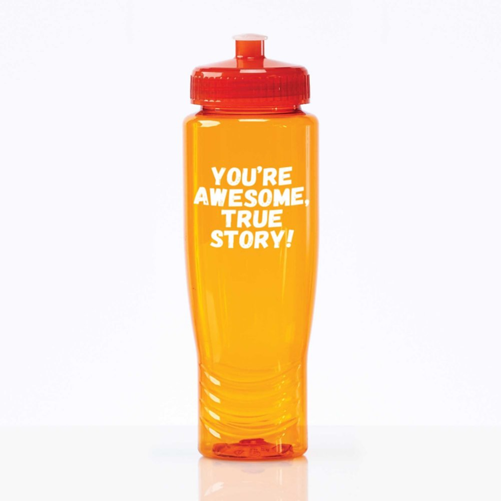 View larger image of Value Fitness Water Bottle- You're Awesome, True Story