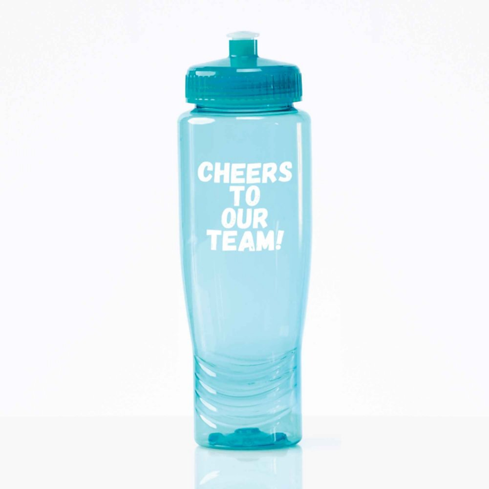 View larger image of Value Fitness Water Bottle - Cheers To Our Team!