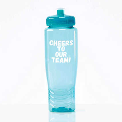 Value Fitness Water Bottle - Cheers To Our Team!