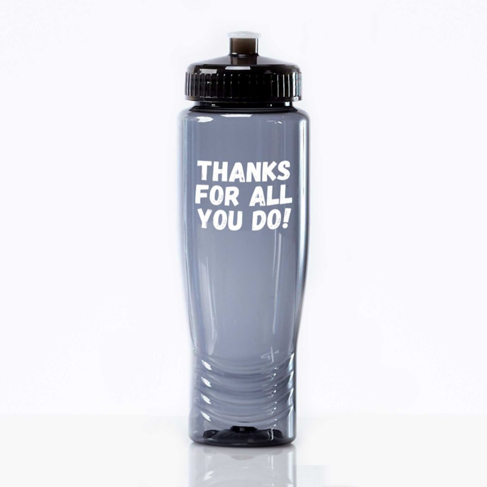 View larger image of Value Fitness Water Bottle - Thanks For All You Do!