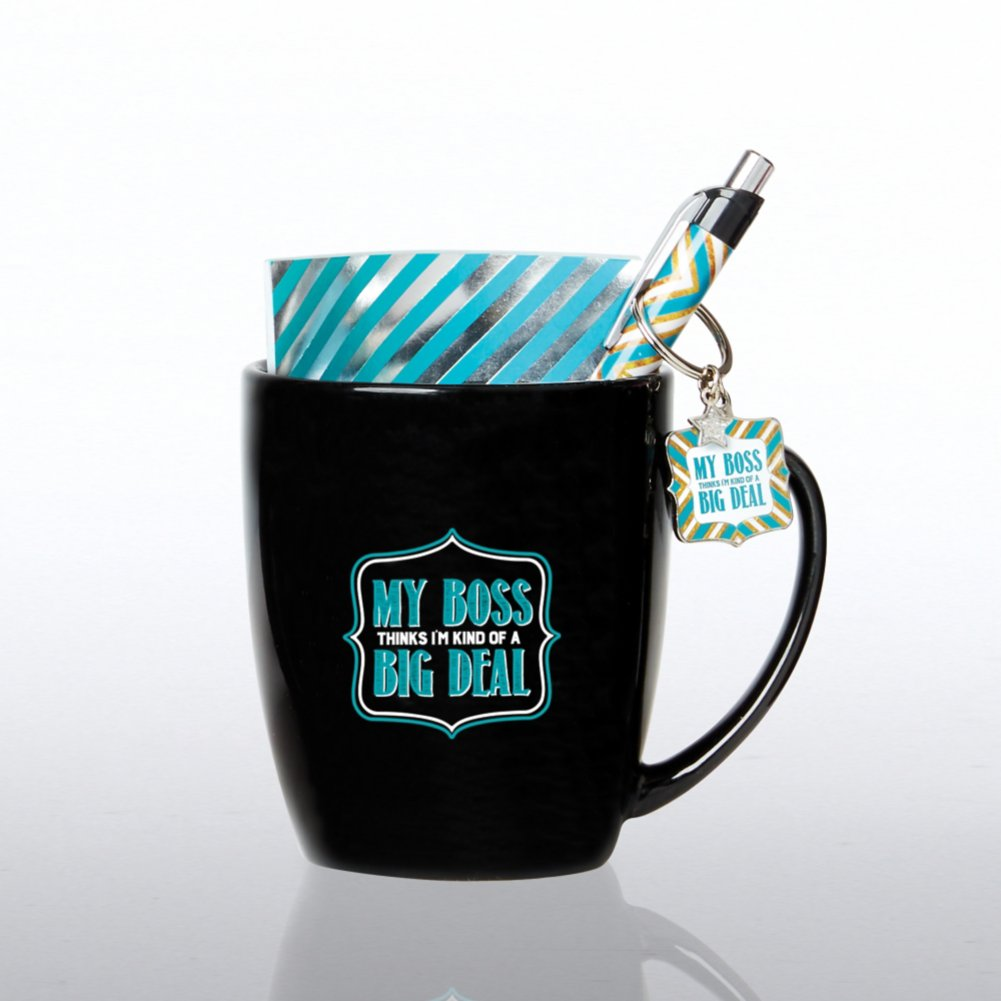 View larger image of Mug Full of Awesome Gift Set - My Boss