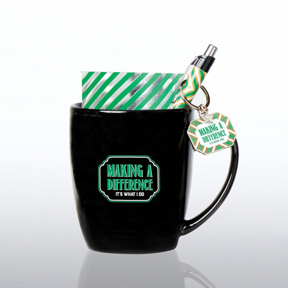 View larger image of Mug Full of Awesome Gift Set - Making a Difference