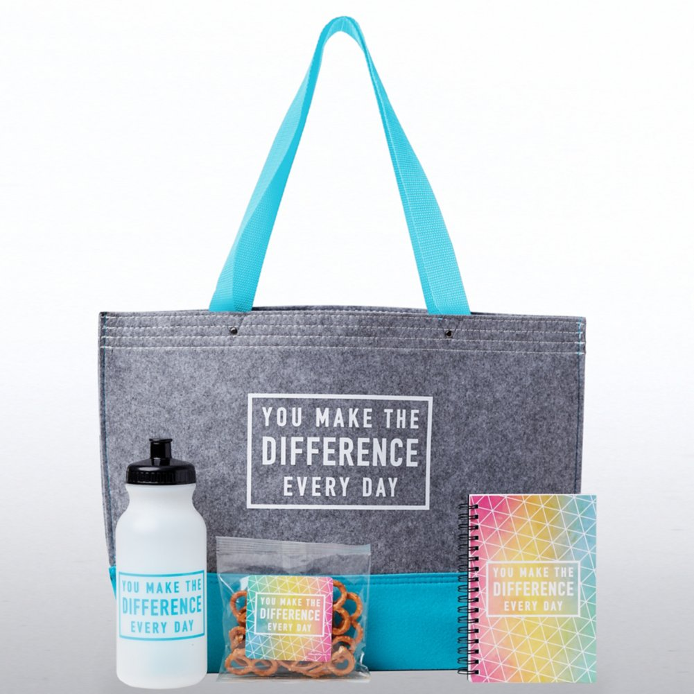 View larger image of Tote-ally Fantastic Gift Set - You Make The Difference