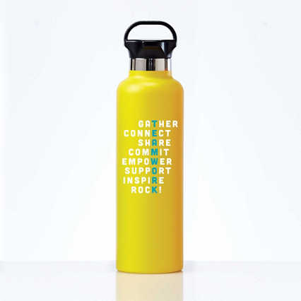 Stealth Stainless Bottle - Teamwork Crossword